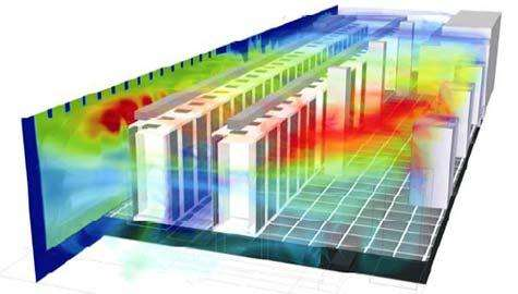 Thermal solution of high heat density data center
