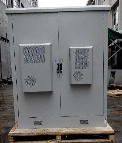 Thermal solution of Telecom outdoor integrated cabinet