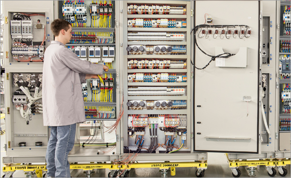 Thermal solution of industrial control cabinet